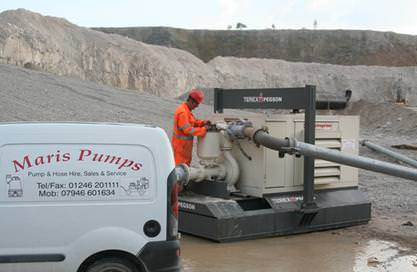 Maris Pumps Case Study Removing from Cement